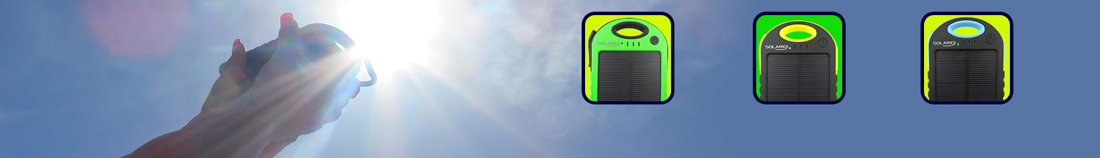 solario solar cell phone charger power bank